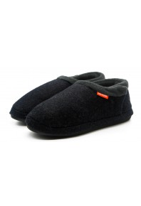 Archline Closed Slipper Charcoal Marl