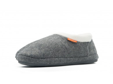 Archline Closed Slipper Grey Marl