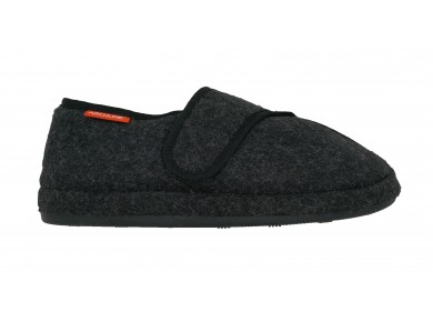 Archline Plus Slippers Charcoal Marl
