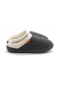 Archline Slip On Slipper Grey Marl