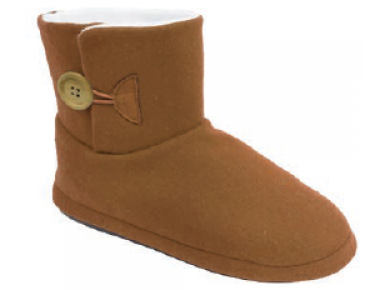 Archline Ugg Boot Slipper Chestnut