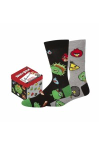 Bamboozld Angry Birds 2pack Socks