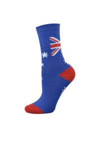 Bamboozld Mens Aussie Flag Socks