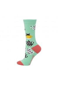 Bamboozld Kitty in a teacup socks
