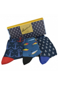 Bamboozld Fishing Socks Gift Box Set (3 pack)