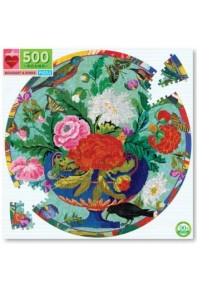 Bouquet and Birds Adult Puzzle 500pc