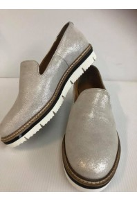 EOS Derick Loafer Silver