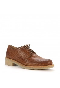 EOS Donna Brogue Brandy Perforated