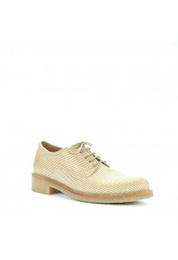EOS Donna Brogue White Perforated