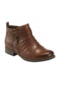 Earth Buckeye Ankle Boot Almond
