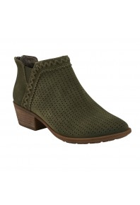Earth Perry Ankle Boot Olive
