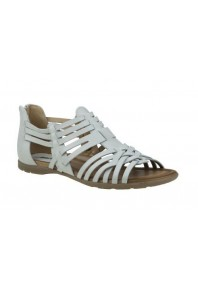 Earth Bonfire Sandal White