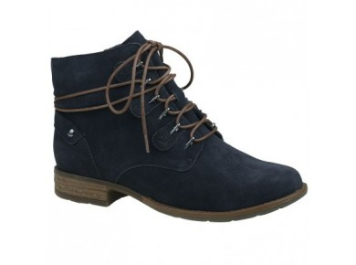 Earth Boone Boot Navy