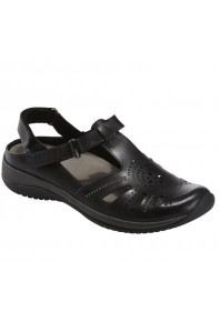 Earth Currie Sandal Black