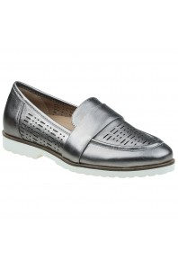 Earth Masio Loafer Silver sz 8, 10