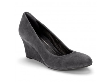 Vionic Camden Grey Wedge sz 10