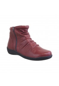Klouds Patricia Red Ankle boot