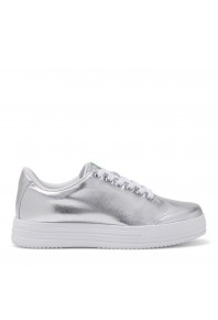 Kroten Harajuku Silver Canvas Sneaker