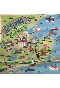 Mabel & Me Geelong and Bellarine Cushion Cover