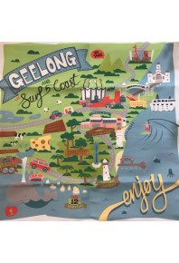 Mabel & Me Geelong and Surfcoast Cushion Cover