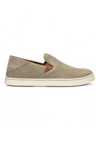 Olukai Womens Pehuea Leather Clay