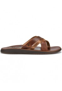 Paniolo Slide Natural Full Leather