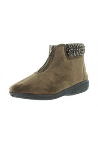 Panda Eclaire Boot Slipper Brown