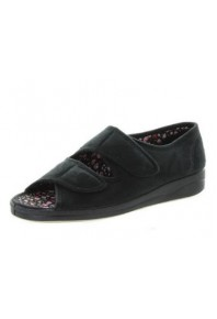 Panda Entice Slipper Black