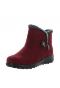 Panda Eugenia Slipper Bootie Burgundy