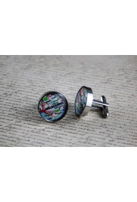 Resinate Designs Melbourne Cufflinks