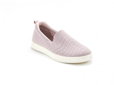 Scholl Young Textile slip-On Pink