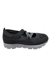Scholl Ursula MJ Walking Shoes Black