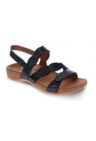 Scholl Able Adjustable Sandals Black