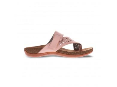 Scholl Antigo Toe Post Sandal Pink