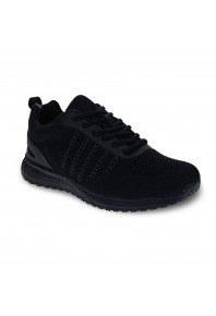 Scholl Mens Elvin Sneaker Black