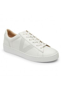 Vionic Honey Leather Sneaker White sz 7, 9