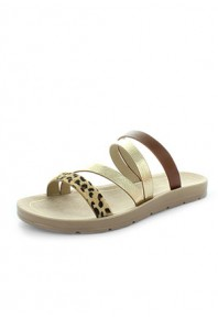 Wilde Sisterly Sandal Brown/Gold Leopard