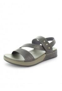 Wilde Surtle Velcro Sandal Pewter