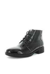 Zola Habel Patent Lace Up Boot