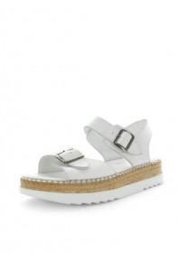 Zola Hisari Sandals White
