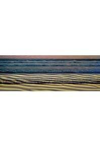 Bluyonda Waves Silk Scarf