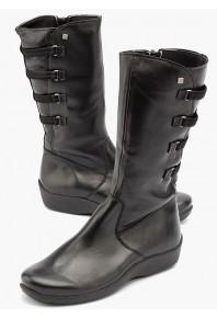 Arcopedico Citrus Boots Black Leather