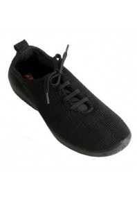 Arcopedico Woven Lace up Black LS