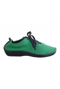 Arcopedico  LS Woven Lace Up Emerald Green
