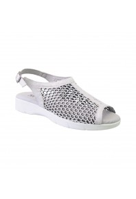Arcopedico Antalia Silver/White