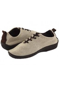 Arcopedico LS Woven Lace up Beige