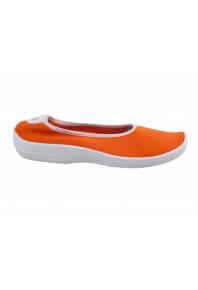 Arcopedico Lolita White Sole Orange