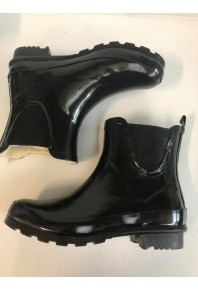 Borelli Puddle Gumboot Black