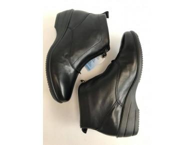 IMAC Zip Front Boot Black