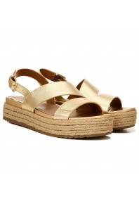 Naturalizer Jasmin Platform Sandal Gold